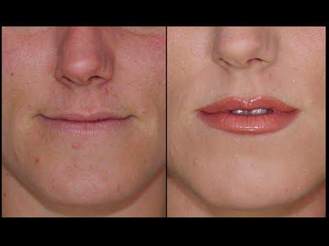 Como agrandar tus labios con maquillaje-Plump your lips with makeup