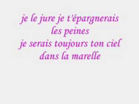 Diam's , car tu portes mon nom , lyrics