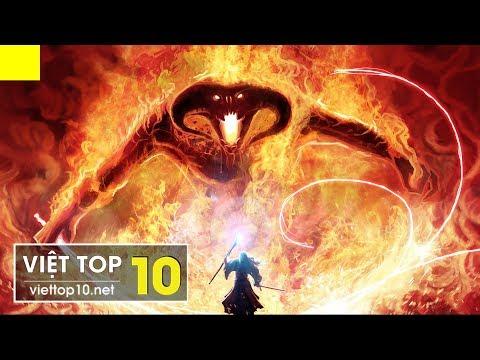 Top 10 Quái Vật Đáng Sợ Nhất Trong Các Bộ Phim