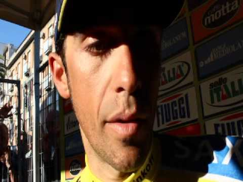 Alberto Contador on winning Tirreno-Adriatico 2014