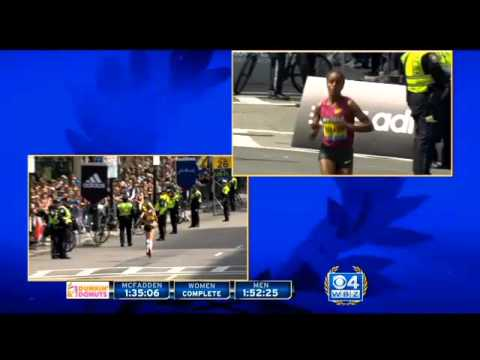Rita Jeptoo Wins Boston Marathon Women's Elite Race