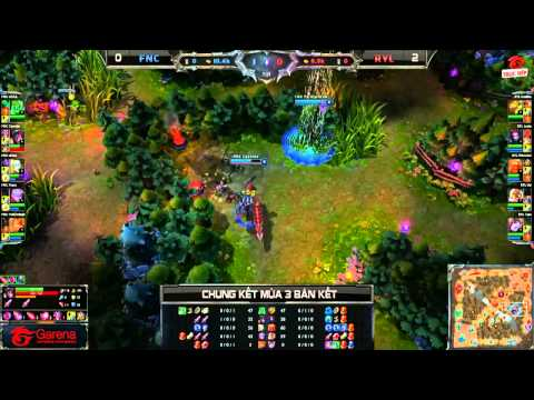 [CK Mùa 3] [Bán kết 2] Fnatic vs Royal HZ [Game 3] [29.09.2013]