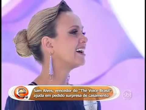 Sam Alves na Eliana