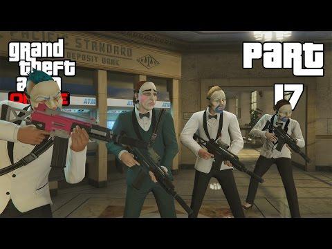 GTA 5 Online Heists - Tập 17: CƯỚP NGÂN HÀNG KHỦNG #3 (Hiuf Beos Funny Moments)