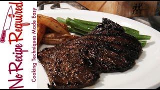 Marinated & Grilled Skirt Steak - NoRecipeRequired.com