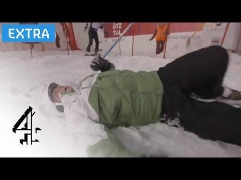 Darren Gough Fail | The Jump (Training) | Channel 4