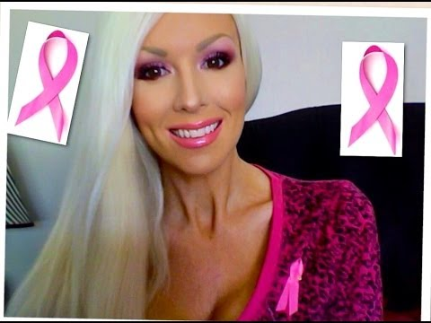 ♥PRETTY IN PINK MAKEUP: BREAST CANCER AWARENESS♥