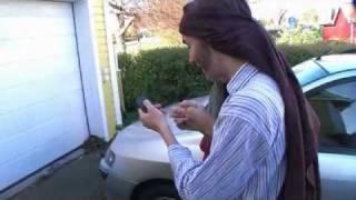 24. Boende i ett garage; Youngsters julkalender Guds plan med Marias barn.