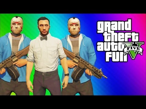 GTA 5 Online Funny Moments Gameplay - Multiple Delirious's, 1st Person Tunnel Driving (Multiplayer)