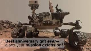 Curiosity Rover Report (August 5, 2016): Four Years on Mars