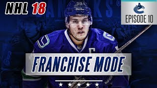 "NHL 18 Franchise Mode | Vancouver Canucks #10 ""Trading The Sedins + New 1st Liner"""