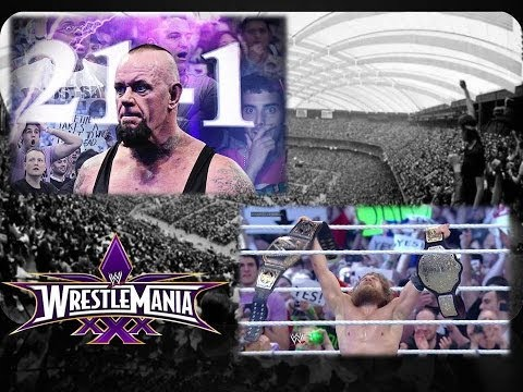 WWE Wrestlemania XXX (WM 30) Review: