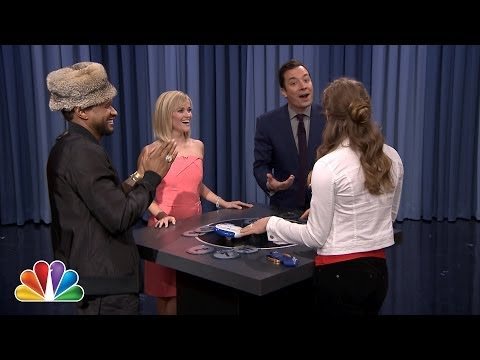 Catchphrase with Reese Witherspoon, Usher and Mikaela Shiffrin