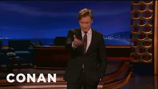 Conan: Tim Tebow's Miraculous Pass