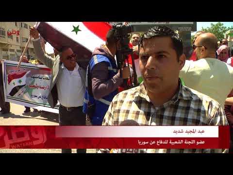 رسالة أهالي الخليل: نحن مع سوريا ظالمة أو مظلومة