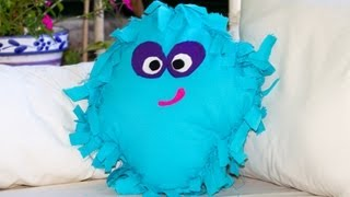 Como Hacer un Cojin Sin Coser Moshi Monster Super Facil