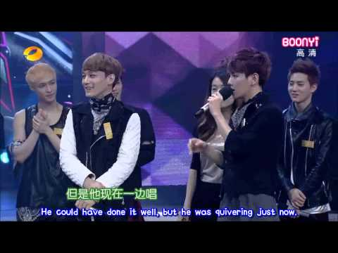 EXO - 130706 Happy Camp 快乐大本营 Part 1 (eng subbed)
