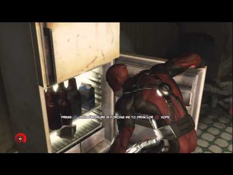 Deadpool Drinks Beer for 10 minutes