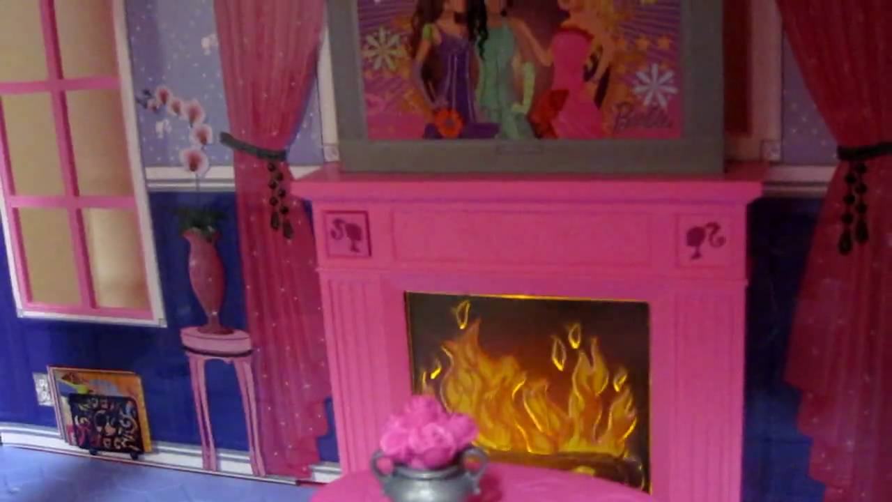 Casa da Barbie(Barbie Pink 3 Story Dream Townhouse) - YouTube