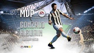 Gonzalo Higuain wins February MVP powered by EA Sports