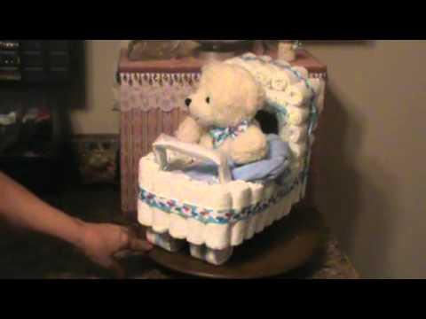 nappy cake pram instructions