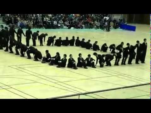 Đội hình đội ngũ - Học sinh Nhật Bản