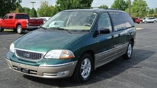 2003 Ford Windstar SEL V6 Start Up and Full Tour