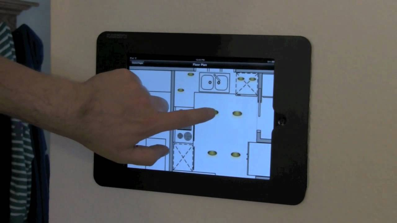 step by step diy wall mounted ipad controller youtube
