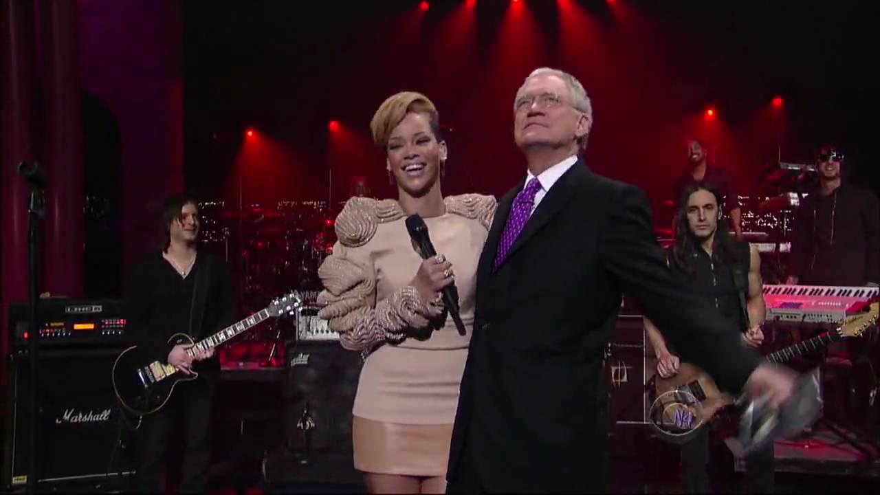 Rihanna russian roulette live