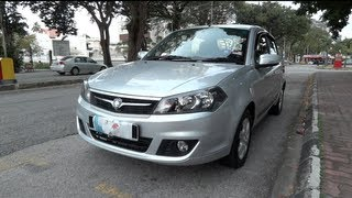2011 Proton Saga FL Executive Start-Up, Full Vehicle Tour and Quick Drive