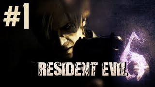 Resident Evil 6 Co-Op Walkthrough W/ TmarTn Leon Part