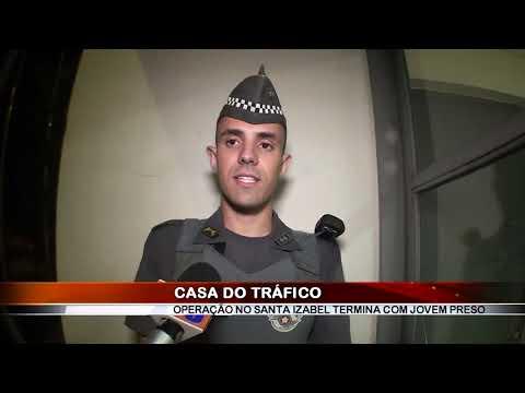 01/03/2019 - Jovem é preso por tráfico de drogas no Bairro Santa Izabel em Barretos