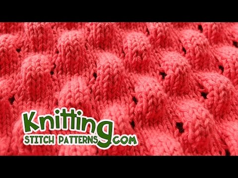 Knitting - Puff stitch