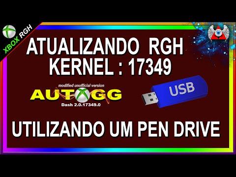 Atualizando RGH Para o Kernel:17349 | Off | Via USB ( Pen Drive )