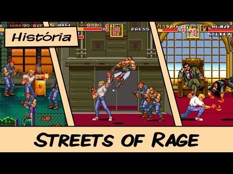 História do Streets of Rage