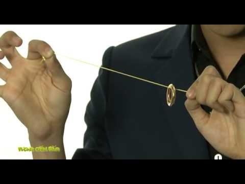 Học ảo thuật đơn giản với nhẫn và sợi dây chun