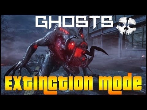 Call Of Duty: Ghosts Extinction Gameplay *Survival*