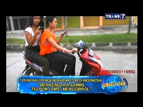 On The Spot - 7 Perilaku Pengendara Motor di Indonesia