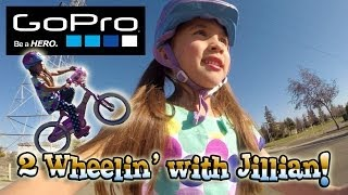 Jillian Learns How To Ride A Bike! GoPro Hero 3+ Black
