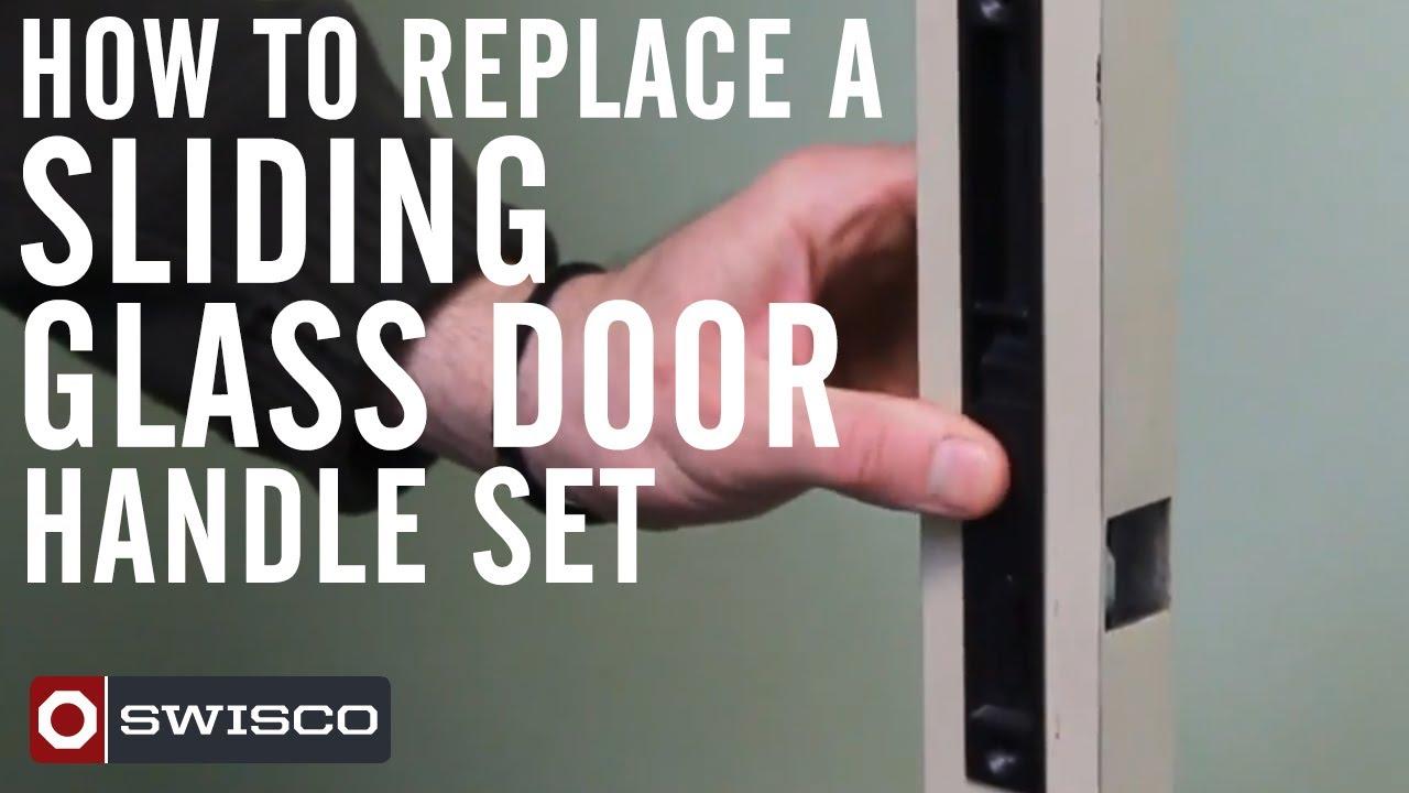 Sliding glass door replacement handle swisco com - How To Replace A Sliding Glass Door Handle Set Youtube