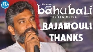 Rajamouli tweets to his fans