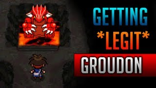 How & Where To Catch/get *LEGIT* Groudon In Pokemon