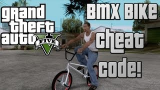 GTA 5 Cheat Code: BMX Bike Cheat Code! New*