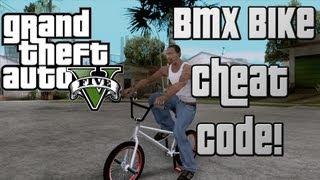 GTA 5 Cheat Code: BMX Bike Cheat Code! New*