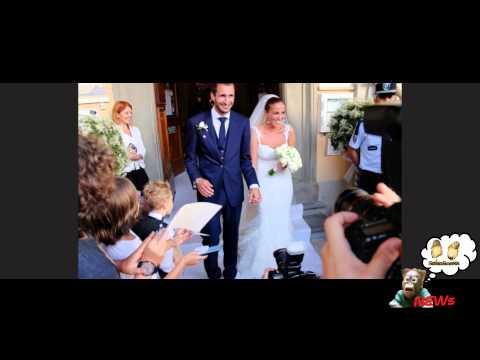 Giorgio Chiellini ha sposato Carolina, alle nozze anche la Seredova senza Buffon