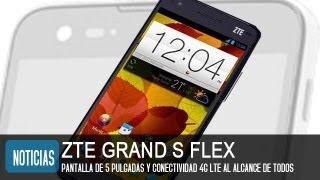 ZTE Grand S Flex, Precio Y Características Del Nuevo