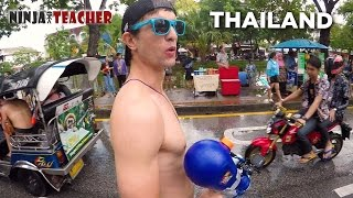 I'm Back In Thailand! Day 2 VLOG | Songkran In Chiang Mai