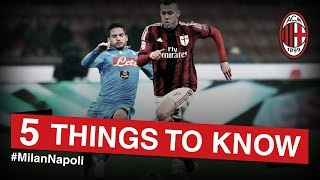 Milan-Napoli: 5 things to know | AC Milan Official