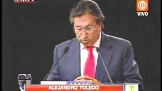 PARTICIPACION COMPLETA DE ALEJANDRO TOLEDO DEBATE