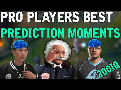 Pro Players Best Prediction Moments (League of Legends)